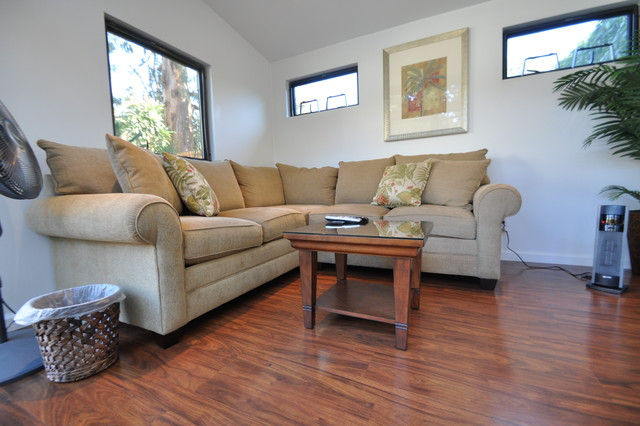 10 x 12 living room design 10x12 Poolside Retreat & Living Space   Contemporary   Living Room  426 X 640