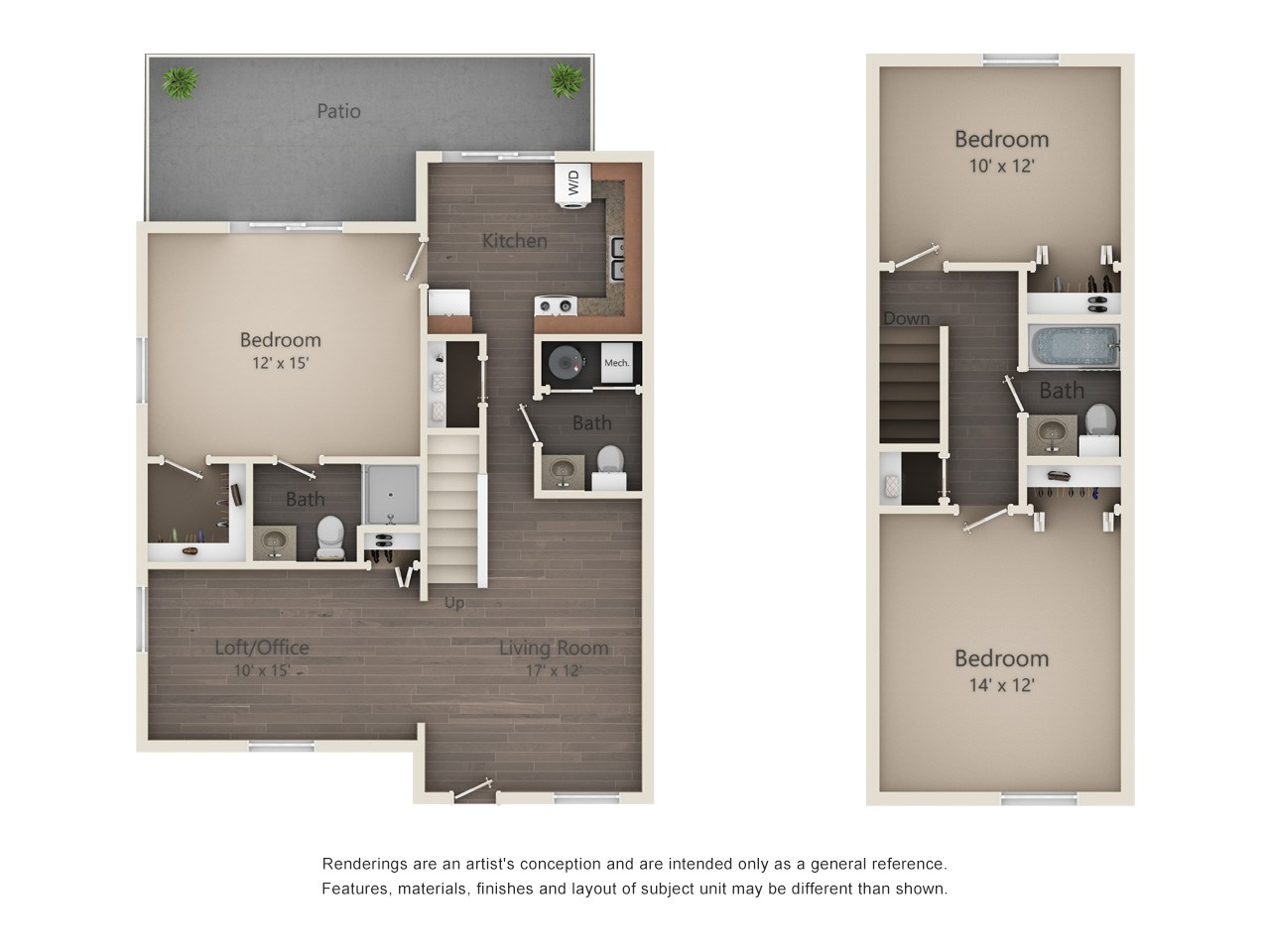 12 x 15 living room design page 3 of 3 oh style - 10 by 10 room ...