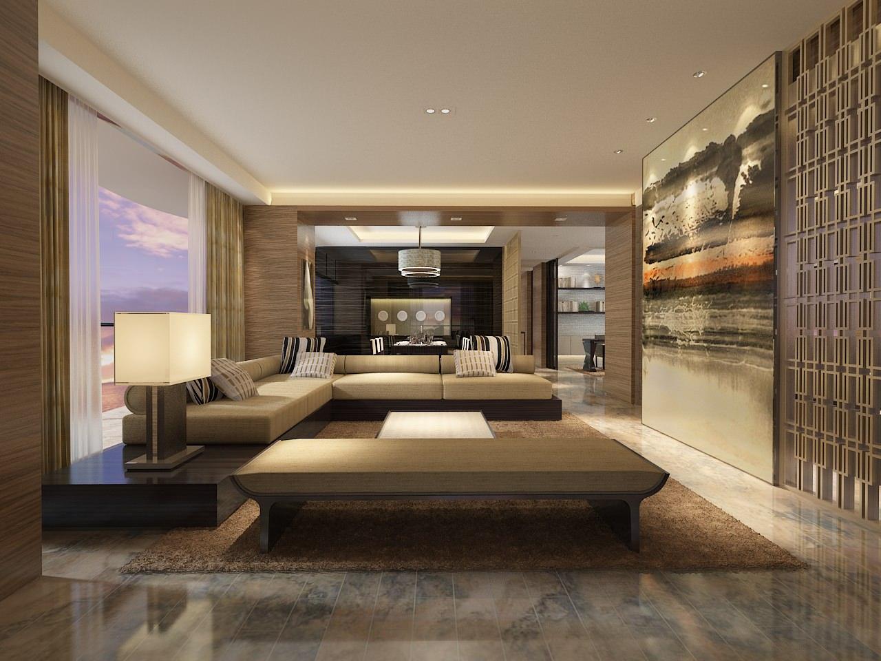 3d living room Living Room: Modern Living Room 3d Model Max. | kukuis 960 X 1280