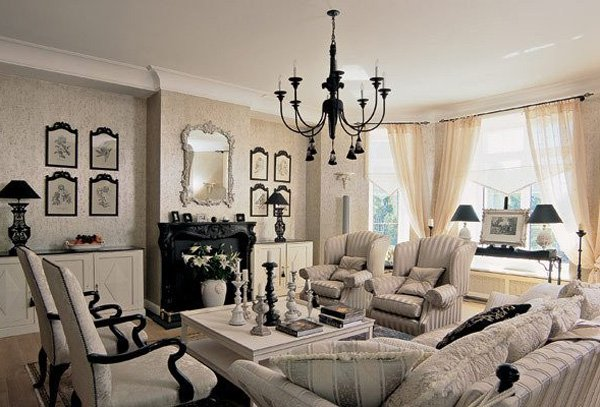 a living room in french Captivating French Style Living Room Designs That Will Delight You 407 X 600