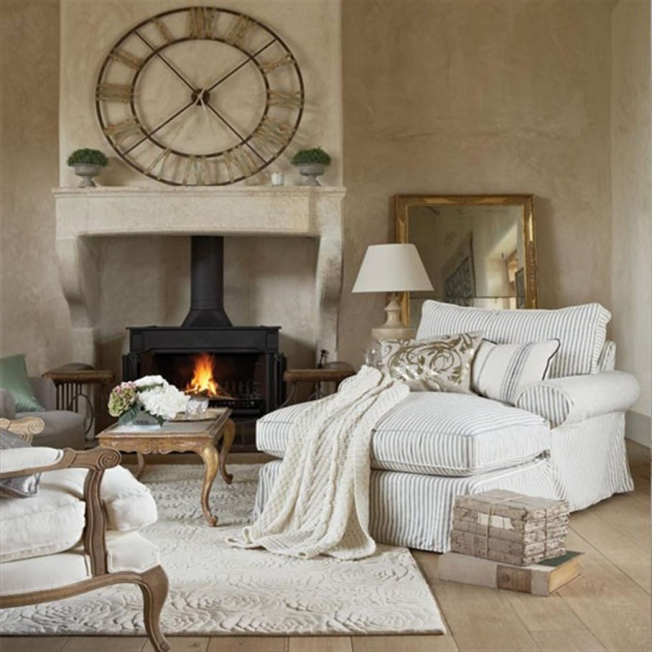 a living room in french Retro Country Living Room Wall Decor Ideas Epwmqouf http://  1280 X 1280