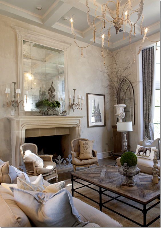 a living room in french 50+ Inspiring Living Room Ideas | French country living room  800 X 565