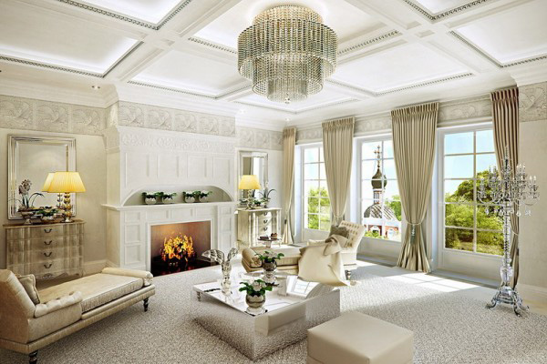 a living room in french French Style Living Room Decorating Ideas   Home Safe 745 X 500