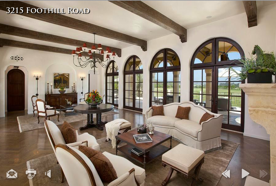 a living room in spanish Spanish Living Room Design at Modern Home Designs 561 X 561