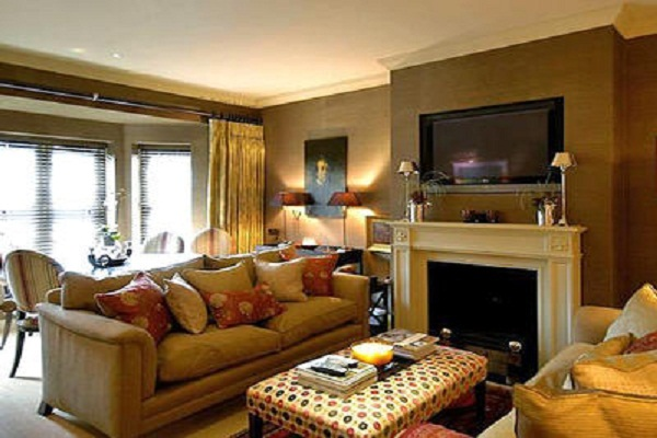 a living room in spanish Paint Colors For Spanish Style Living Room | Thecreativescientist.com 400 X 500