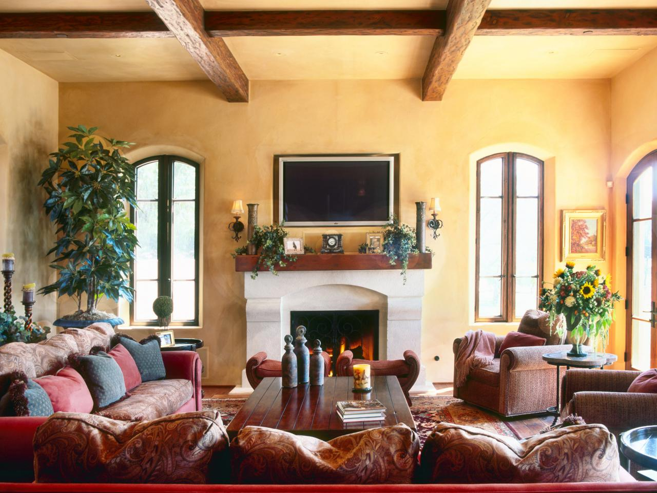 a living room in spanish The Ultimate Inspiration For Spanish Styling | Beams, Spanish and  567 X 741