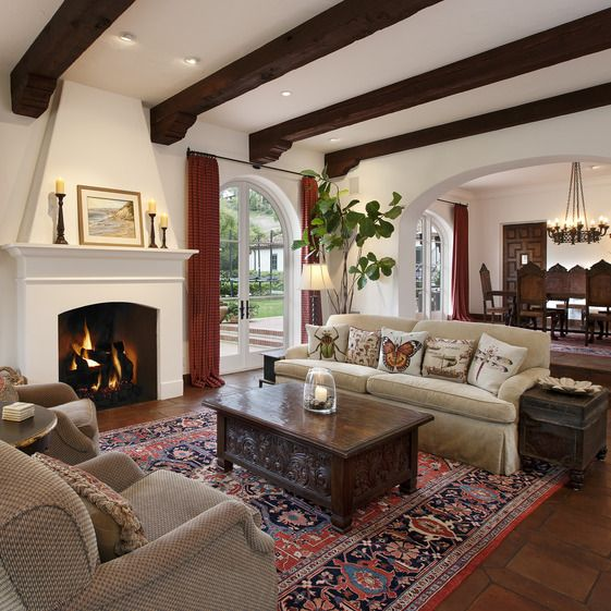a living room in spanish Living Room Spanish Style Design | HomesFeed 1707 X 1280
