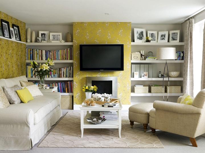 a living room Home Inspiration: Brighten a Living room 539 X 720