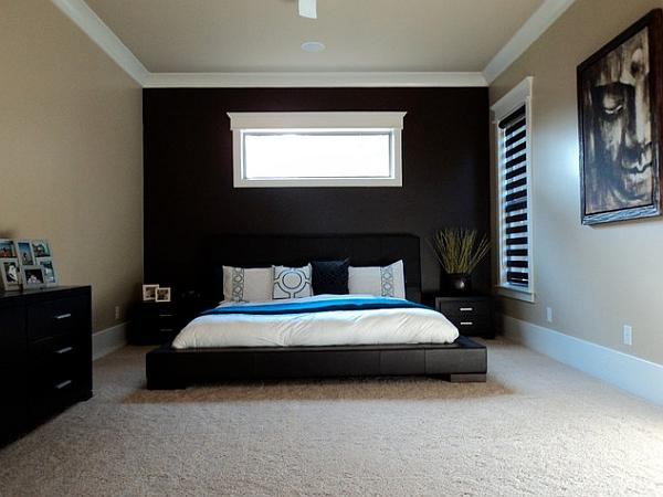 bedroom color accent wall Bedroom Accent Walls to Keep Boredom Away | The Best Bedroom  450 X 600