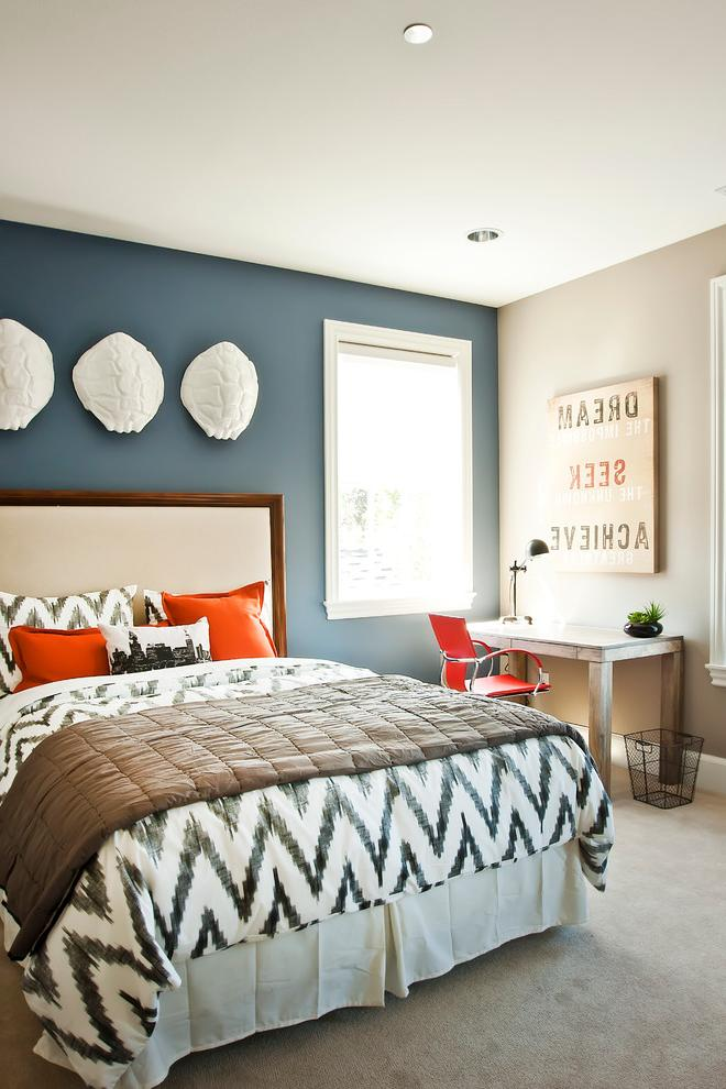 bedroom color accent wall Dare To Be Different: 20 Unforgettable Accent Walls 990 X 660