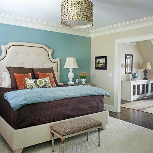 bedroom color accent wall turquoise accent wall | Picking The Perfect Paint, Adore Your  500 X 500