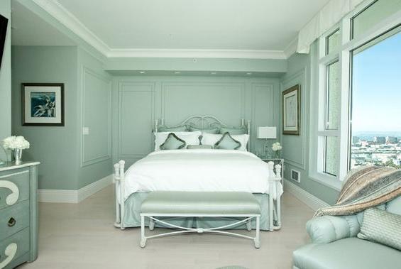bedroom color aqua Awesome Aqua Color Bedroom  color schemes for bedroom Aqua Color  379 X 565