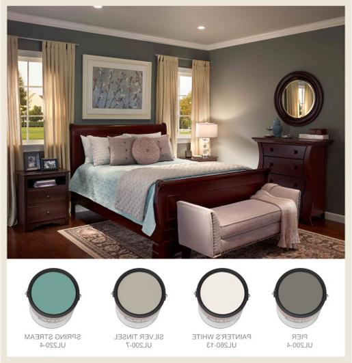 bedroom color behr Colorfully, BEHR :: Restful Bedrooms 531 X 515