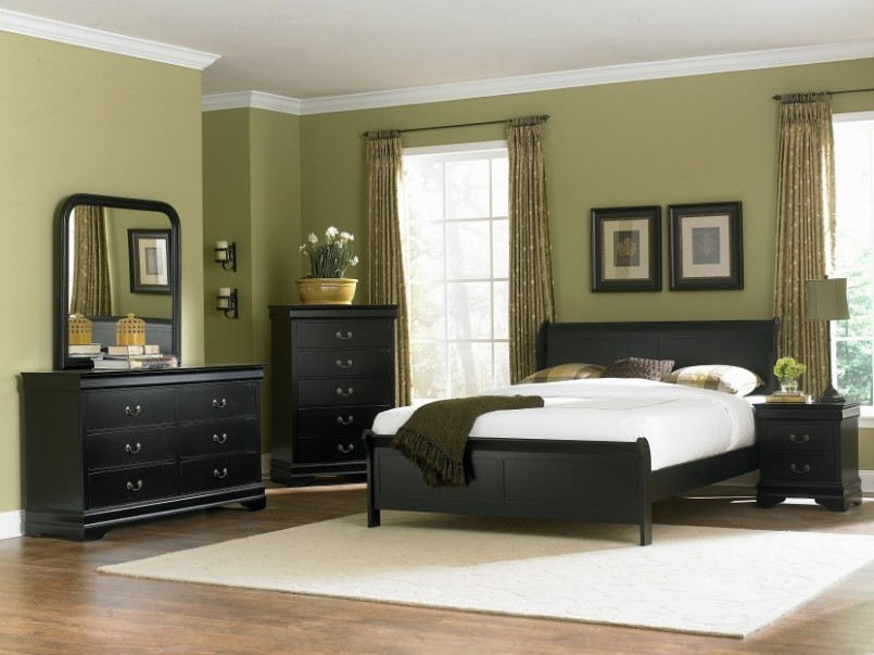 bedroom color black furniture 2015 For Purple Bedroom With Chocolate Brown Curtains And Black  1650 X 2200