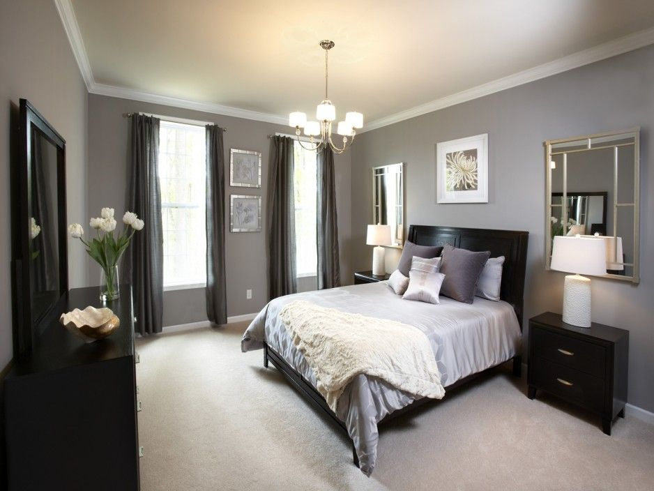 bedroom color black furniture Bedroom colors with black furniture   large and beautiful photos  603 X 805