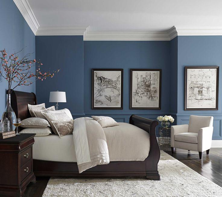bedroom color blue Best Blue Color Bedroom Walls  best master bedroom paint colors  651 X 736