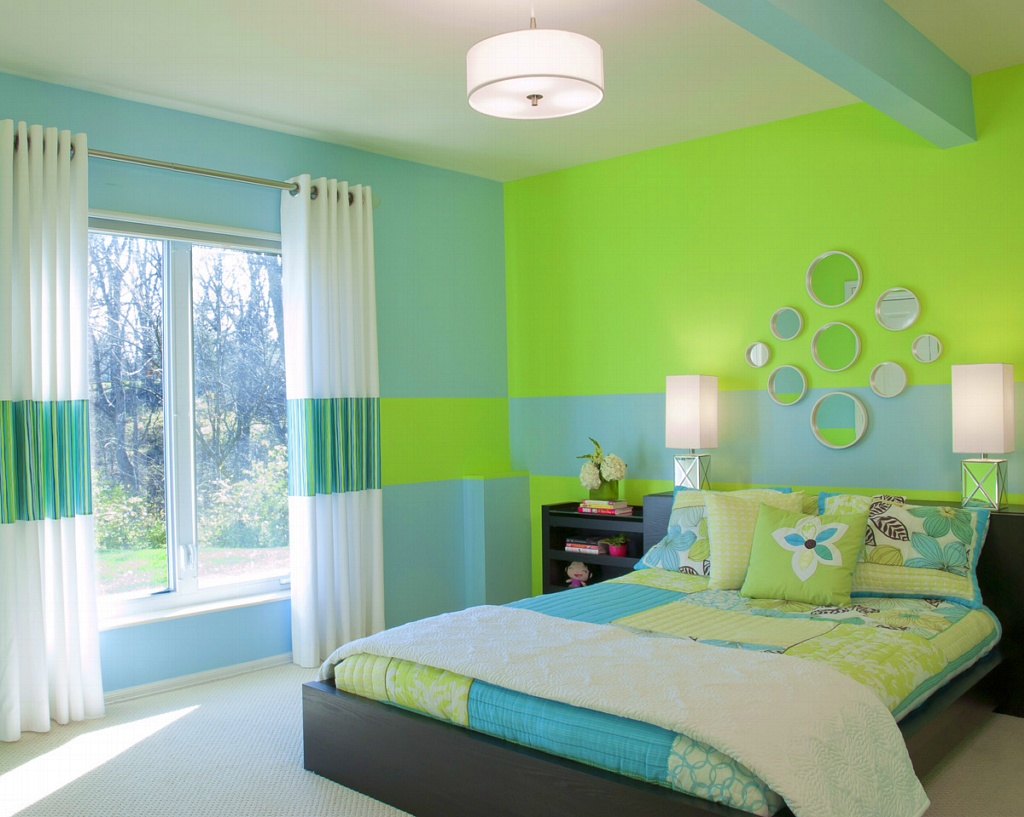 bedroom color blue combination Comfortable Home: Bedroom Decorating with Color Combination 400 X 400