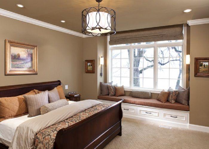 bedroom color brown Bedroom Cream Walls On Simple Brown Bedroom Colors   Home Design Ideas 500 X 700