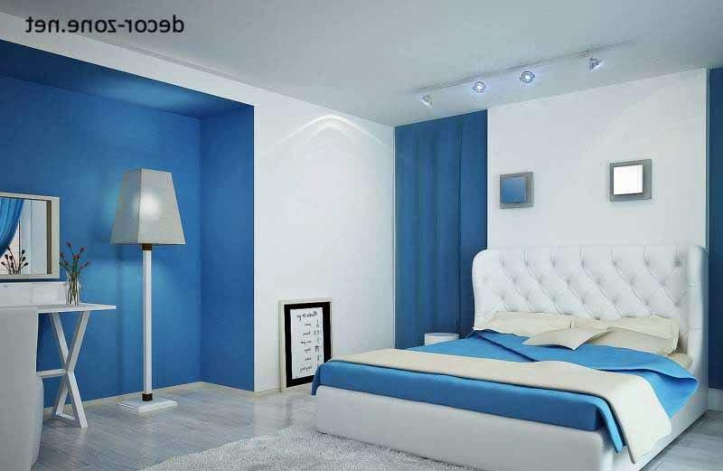 bedroom color combination with blue White And Blue Bedroom Paint Color Combination Bedroom Furniture  521 X 800