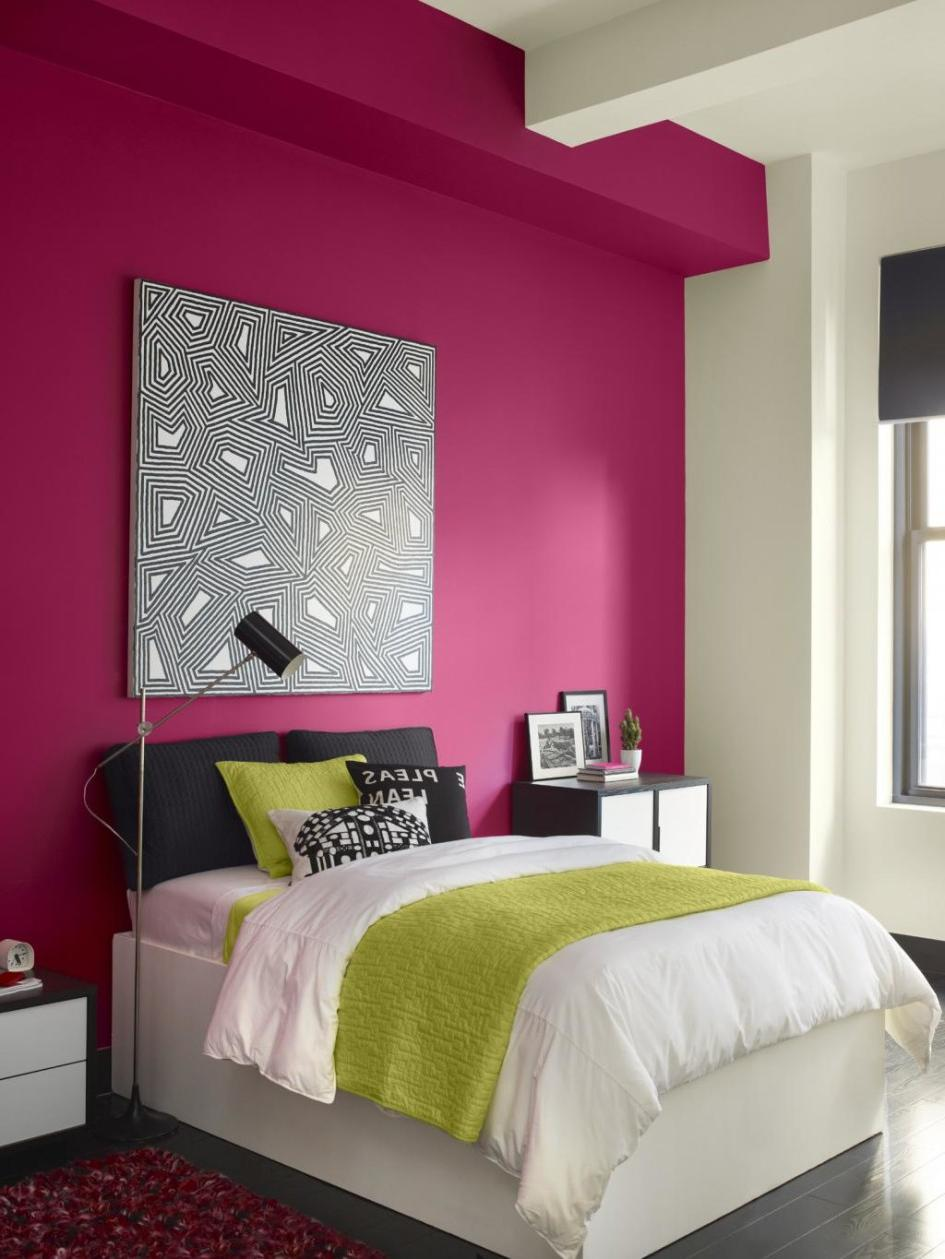 bedroom color combinations for walls Interior Paint Color Scheme For Beautiful Home   TheyDesign. 1259 X 945