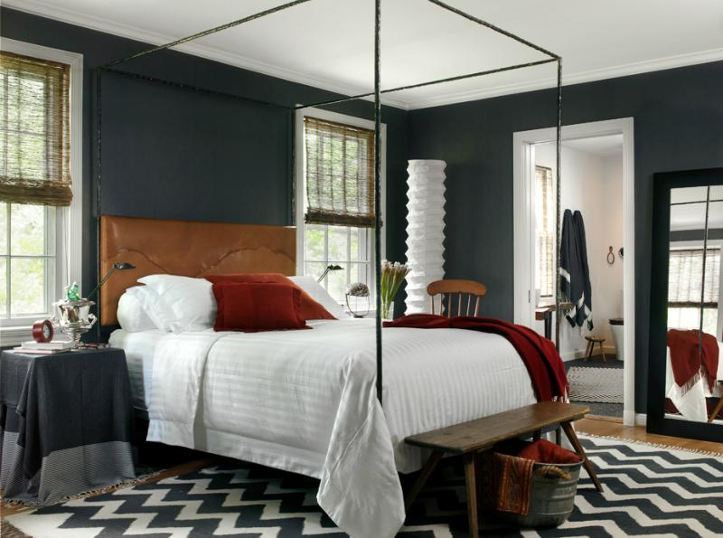 bedroom color combinations with grey 22 Beautiful Bedroom Color Schemes   Decoholic 595 X 800