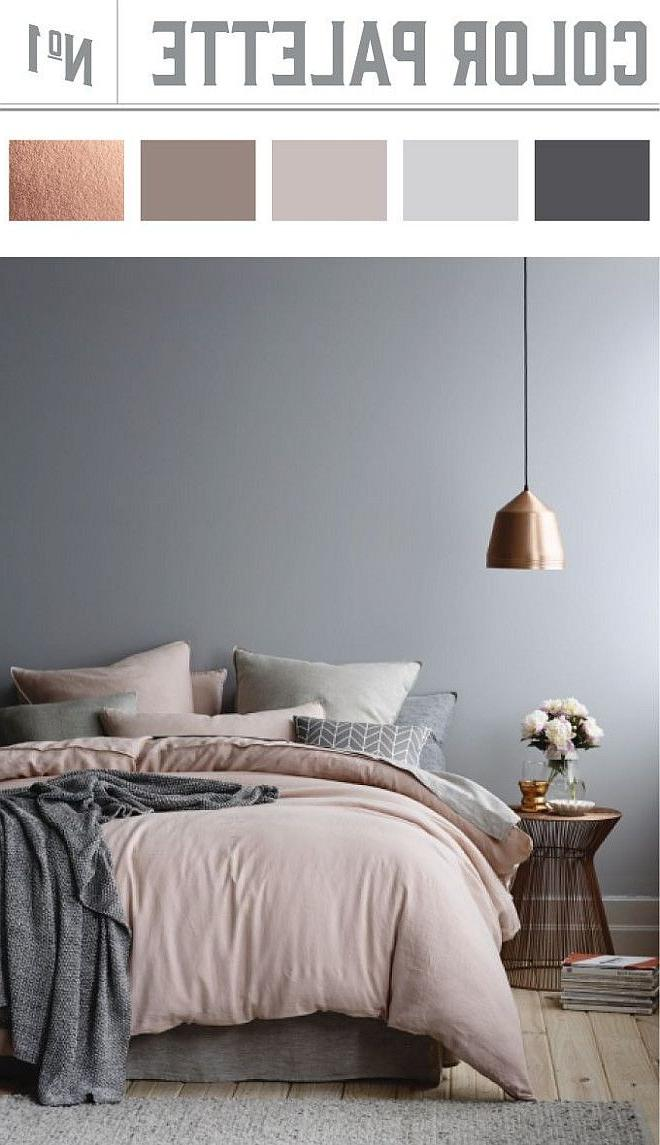 bedroom color combos 23 Decorating Tricks for Your Bedroom   Bedroom color palettes  1145 X 660