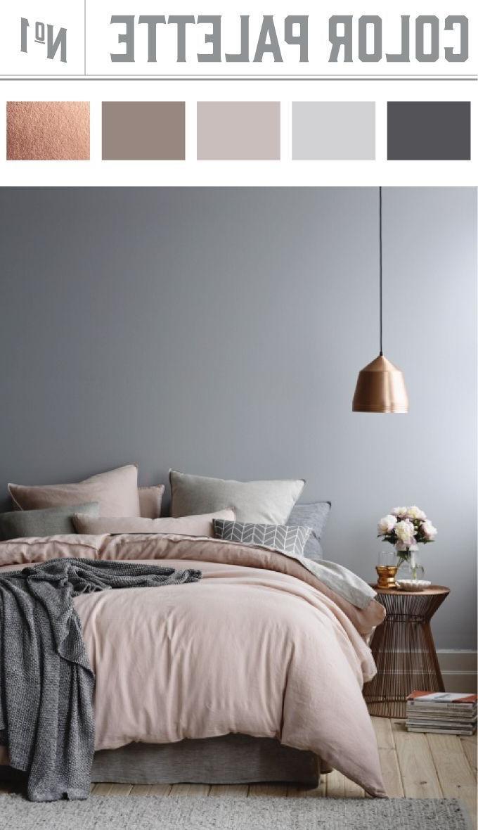 bedroom color combos 71 best BLUSH, GREY & COPPER BEDROOM images on Pinterest   Room  1180 X 680
