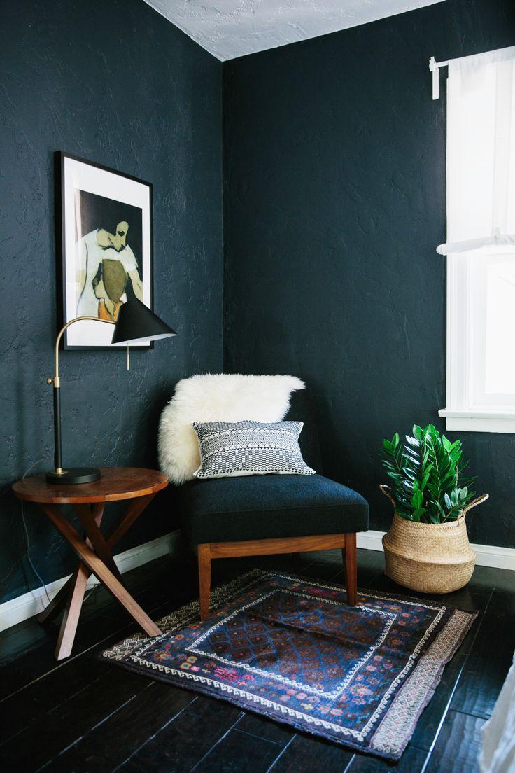 bedroom color dark 79 best Hague blue images on Pinterest   Dark walls, Wall paint  1104 X 736