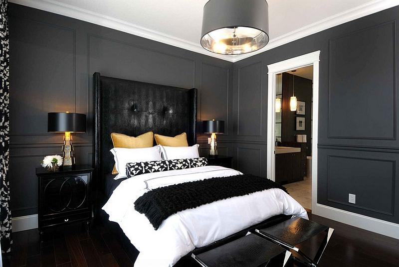 bedroom color dark Dark Bedroom Colors   Best Home Design Ideas   stylesyllabus.us 536 X 800