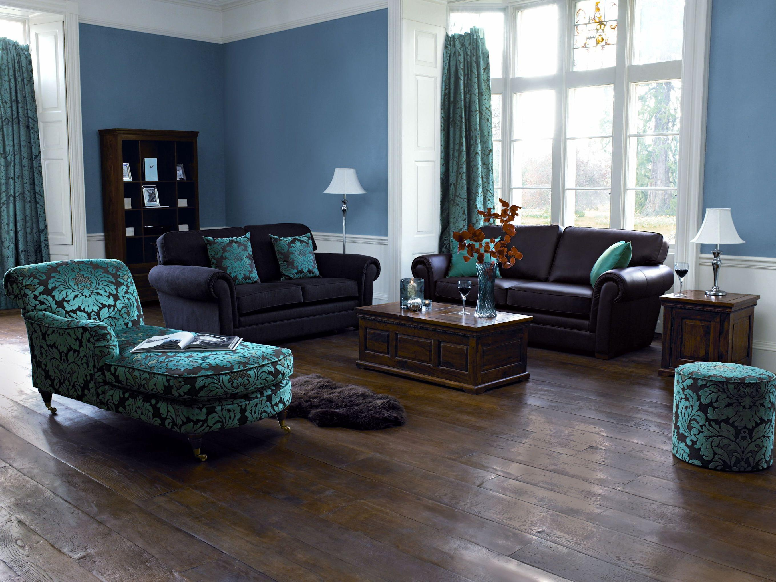 bedroom color dark furniture Blue paint color ideas for living room with dark furniture and  2040 X 2718