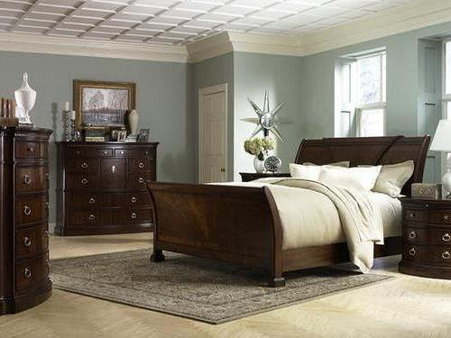 bedroom color dark furniture Blue Bright Master Bedroom Wall (16 | Dark furniture, Blue grey  375 X 500