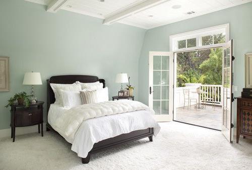 bedroom color dark furniture Bedroom Paint Colors With Dark Furniture   HOME DELIGHTFUL 338 X 500