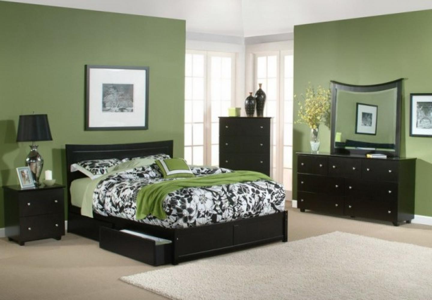bedroom color dark furniture Cool And Simple Wall Colors For Bedrooms With Dark Furniture  998 X 1440