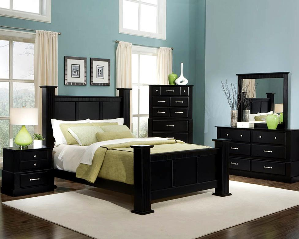 bedroom color dark furniture Paint ideas for bedrooms with dark furniture (photos and video  780 X 976