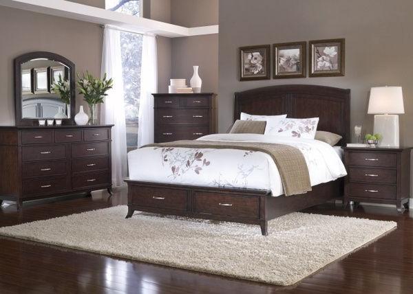 bedroom color dark wood Bedroom : Dark Bedroom Furniture 13 Dark Wood Bedroom Furniture  1072 X 1600