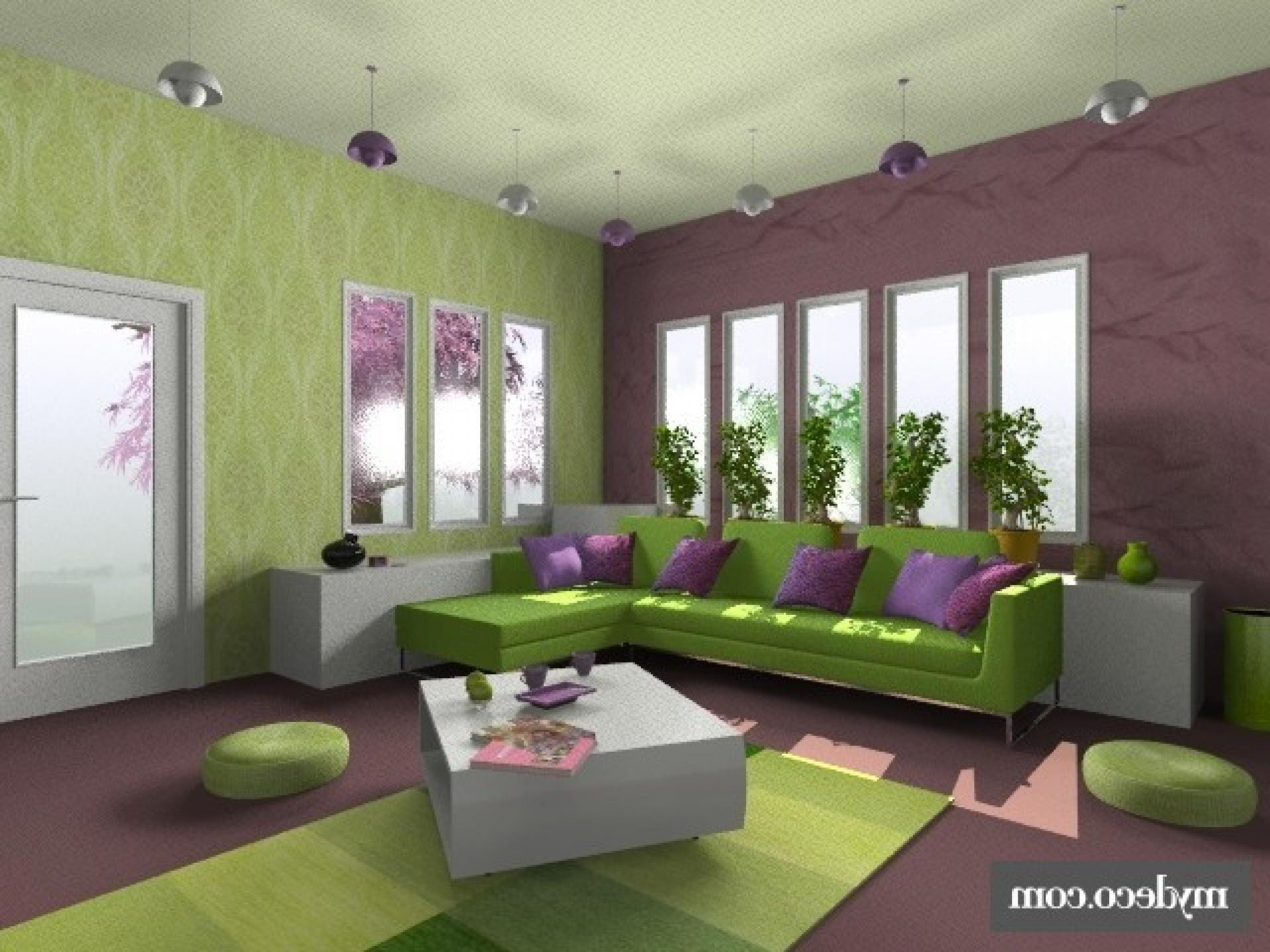 bedroom color design online Interior Purple Wall Paint House Ideas Yellow Color Design Living  1440 X 1920