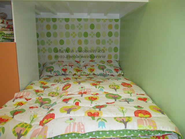 bedroom color design philippines Patterned Wallpaper and Glittering Carpet For Attic Loft Type  480 X 640