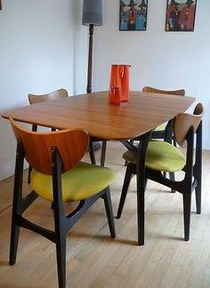 g plan living room furniture RETRO VINTAGE TEAK MID CENTURY DANISH STYLE DINING TABLE EAMES ERA  324 X 236