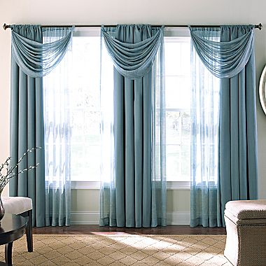 jcpenney living room curtains Cindy Crawford Style® Valencia Draperies, Panel   jcpenney MUST  380 X 380