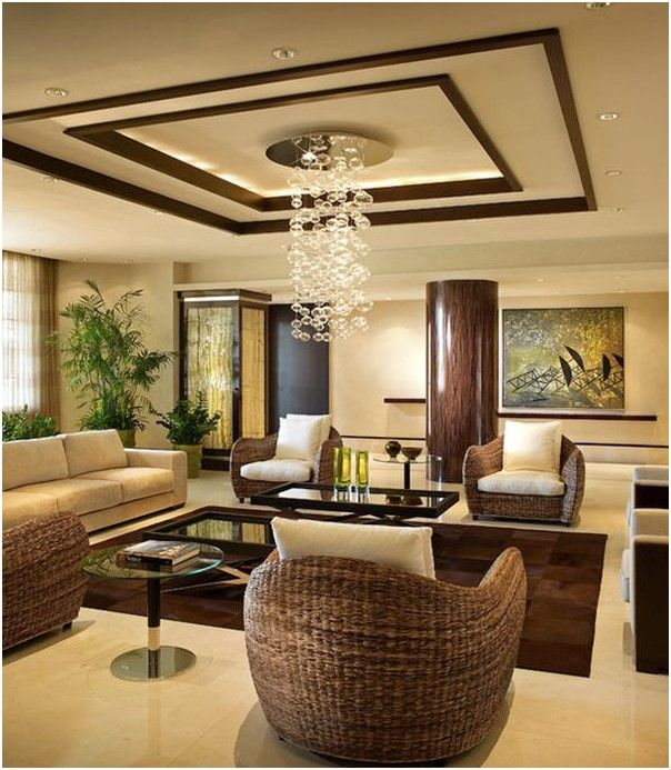 l living room false ceiling design for l shaped living room   Sweet home  693 X 604
