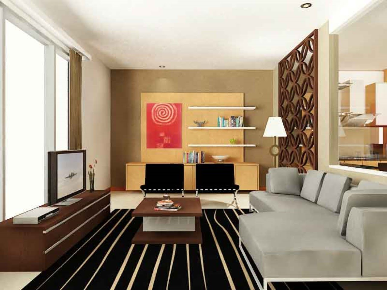 l living room ideas On Designs For L Shaped Living Rooms 26 On Modern Home Design with  960 X 1280