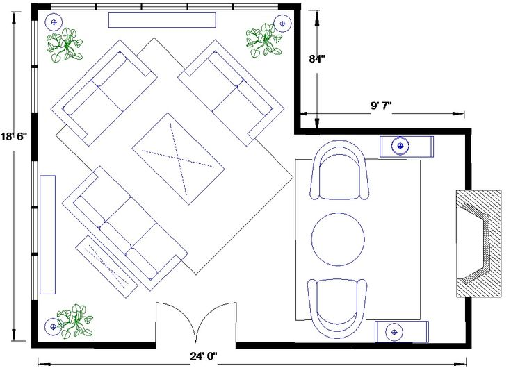l shaped living room L shaped living/dining room is a challenge   Shapes, Extensions  192 X 236