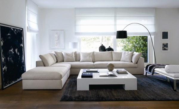 l shaped living room sofa Homey Idea L Shaped Living Room Delightful Design Furniture Layout  551 X 902