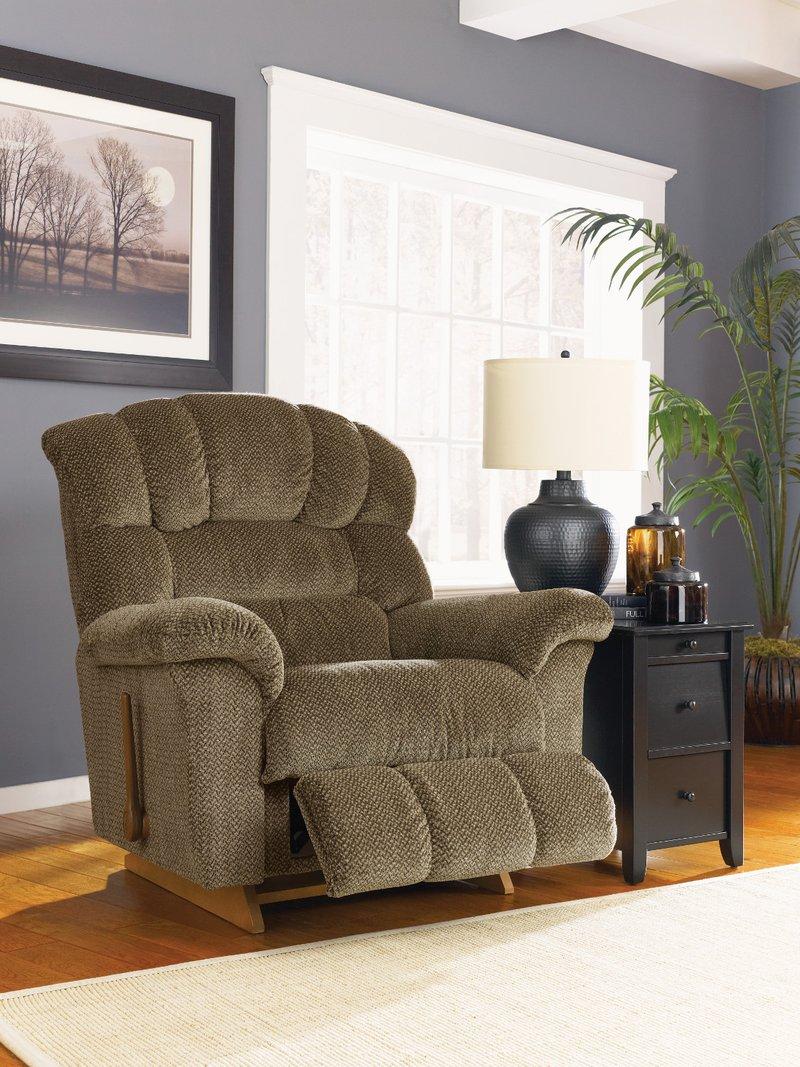 la-z-boy living room crandell reclina-rocker recliner Crandell Reclina Rocker® Recliner by La Z Boy | Baby Forney  392 X 400
