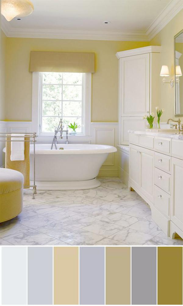 best bathroom color ideas 2019 111 World`s Best Bathroom Color Schemes For Your Home Homesthetics  1000 X 600