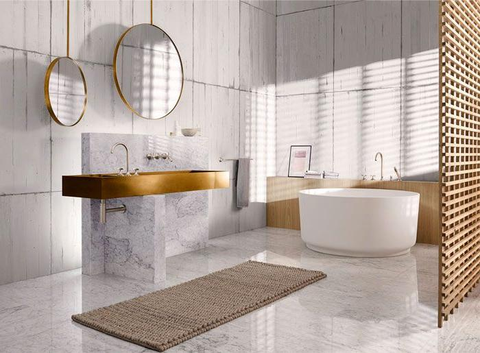 best bathroom color ideas 2019 Bathroom Trends 2019 / 2020 – Designs, Colors and Tile Ideas  515 X 700