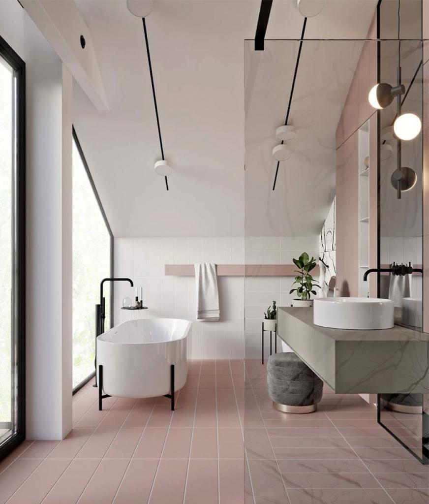 best bathroom color ideas 2019 Interior Design Bathroom Colors Bathroom Trends 2019 2020 Designs  1024 X 872