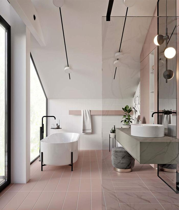 best bathroom color ideas 2019 Bathroom Trends 2019 / 2020 – Designs, Colors and Tile Ideas  822 X 700