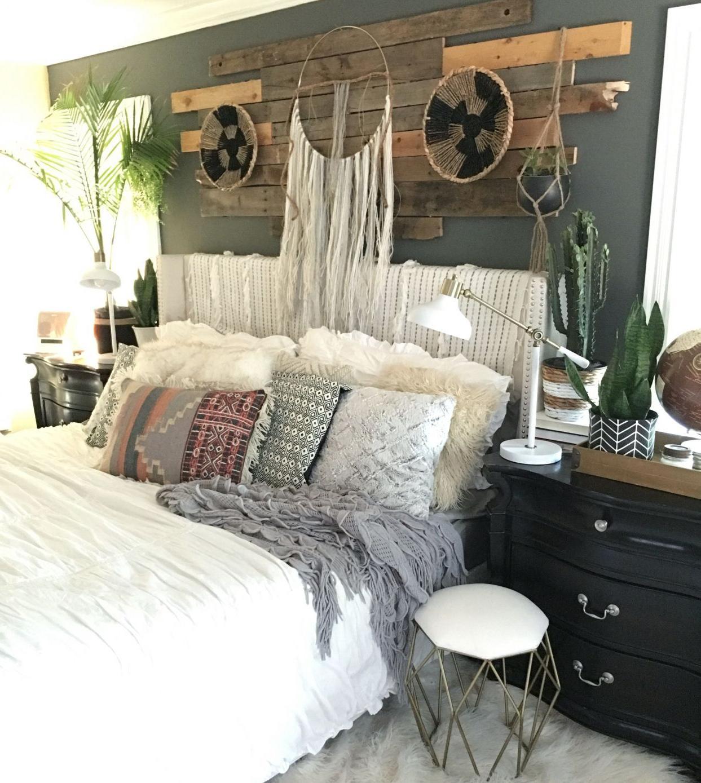 cozy bedroom colors 2019 2019 Boho Chic Bedroom Decor   Most Popular Interior Paint Colors  1389 X 1243