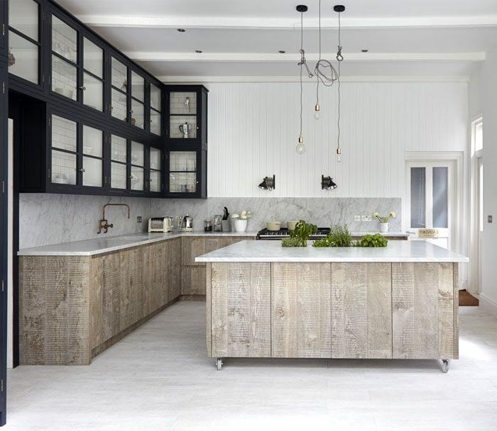 modern kitchen colors 2019 Kitchen Design Trends 2018 / 2019 – Colors, Materials & Ideas  608 X 700